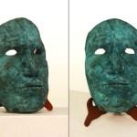 Andy Rader - Bronze - Digital Mosaic Mask