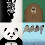 Andy Rader - Social Media - Animal Illustration Series