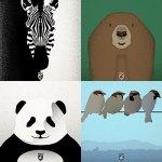 Andy Rader - Social Media - Animal Illustration Series