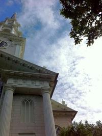 First Unitarian Universalist Steeple, Providence, RI