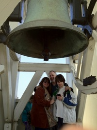The Afflecks in the Bell Tower