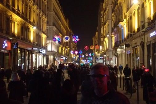 Everywhere lit up