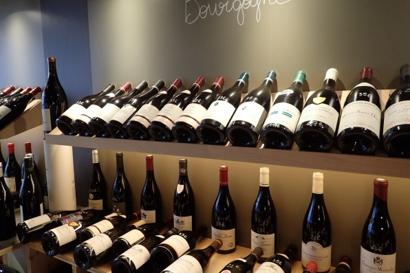 Endless selection of Burgandy (Pinot Noir)