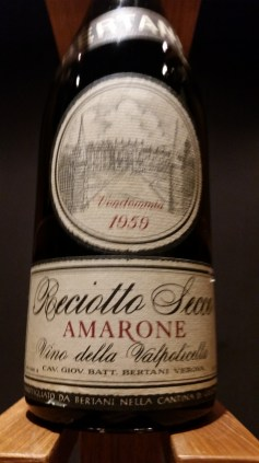 Amarone from 1959