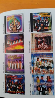 Just one page of Spitzbuam CD's!