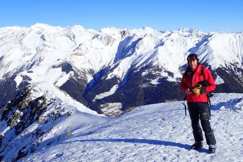 Looking towards the Austrian Alps