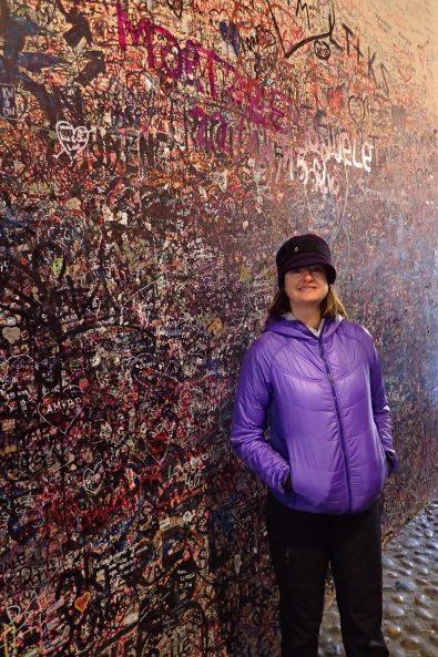 Hundreds of years of grafitti