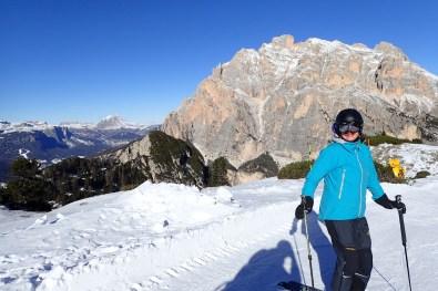 Skiing the Lagazuoi #3