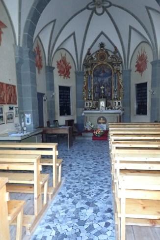 Inside the War Memorial Chapel