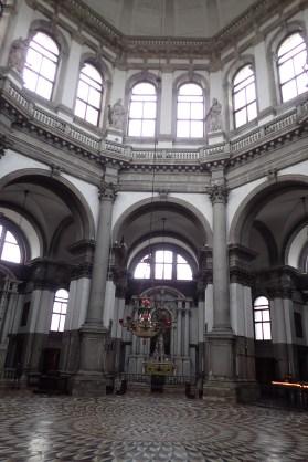 Inside Chiesa Santa Maria della Salute