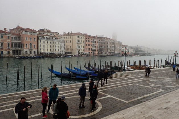 A misty Grand Canal