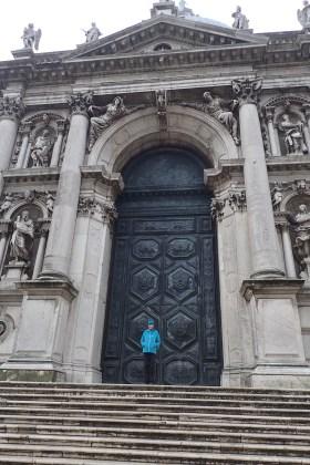 The huge doors of Chiesa Santa Maria della Salute