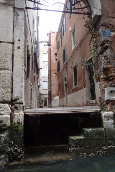 Laneways from the canals