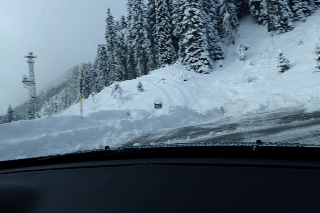 Serious snow on Staulanza