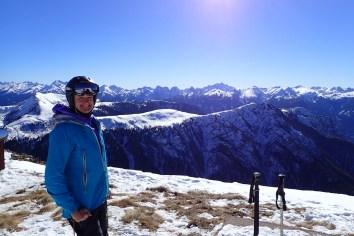 Views from Pala di Santa 2500m