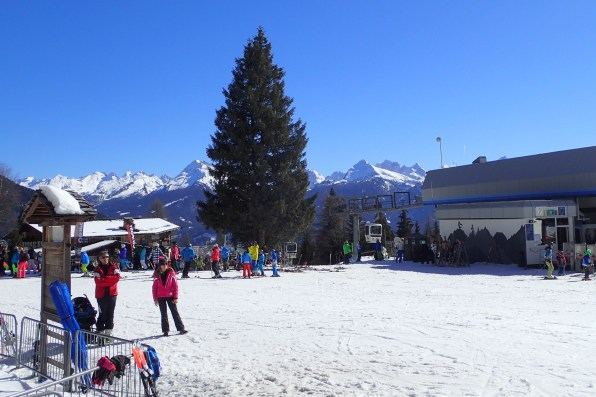 At Predazzo Access point