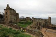 19 St Andrews Castle remnants