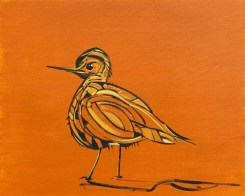 Birdie, size 16x20 in., canvas giclée print available in size R2