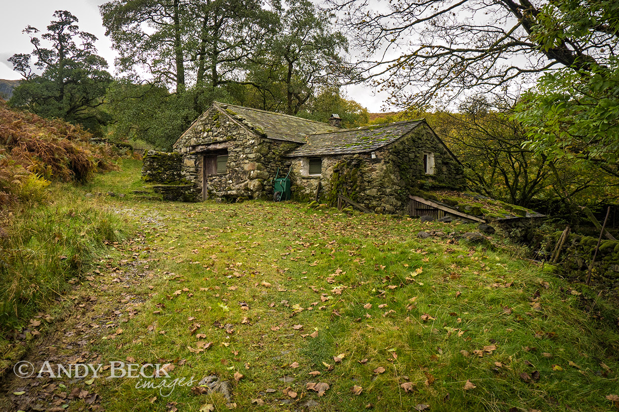 The old corn mill, Borrowdale