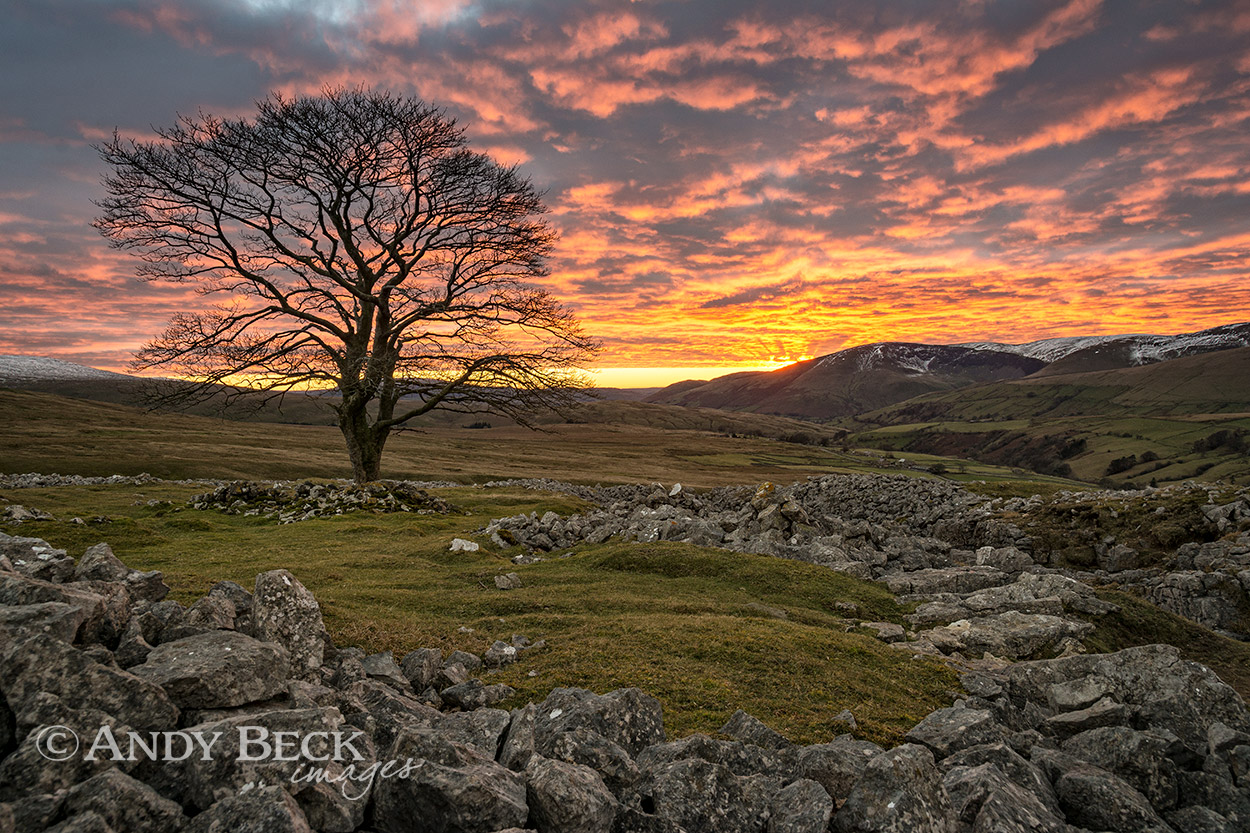 Fell End Clouds sunset