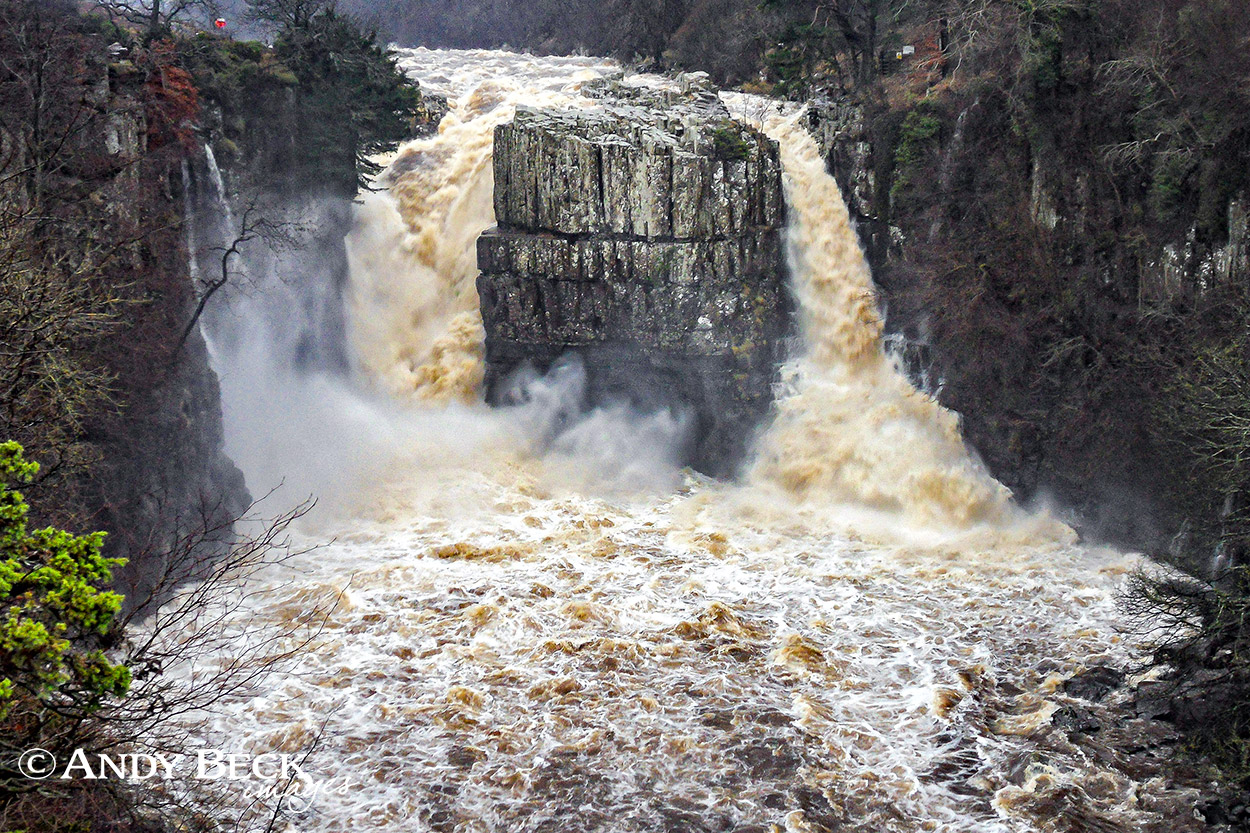 High Force in spate