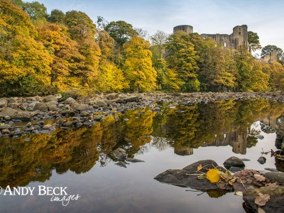 Barnard Castle, Autumn reflections