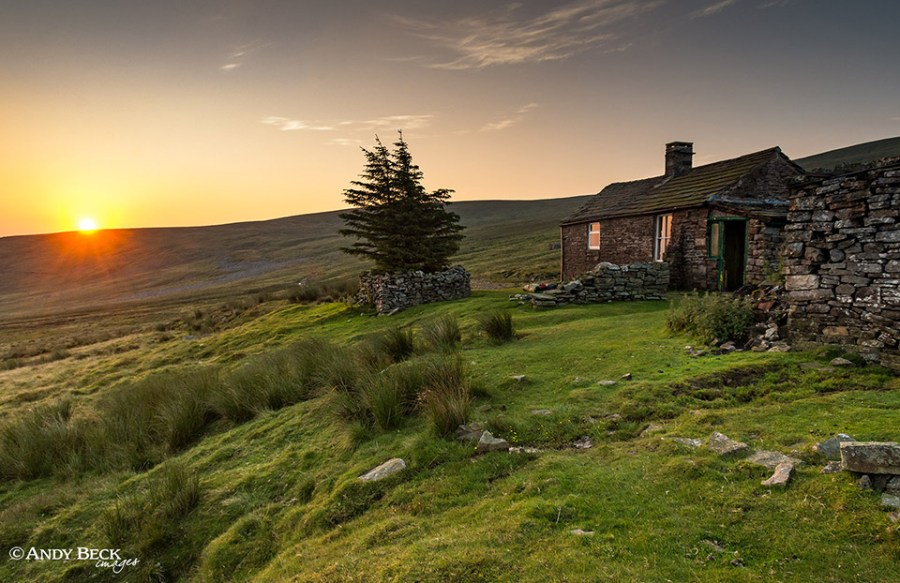 Greg's hut at dawn, Cross fell