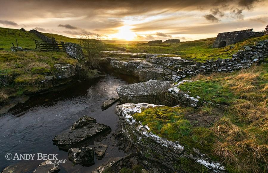 Sundown at God's Bridge