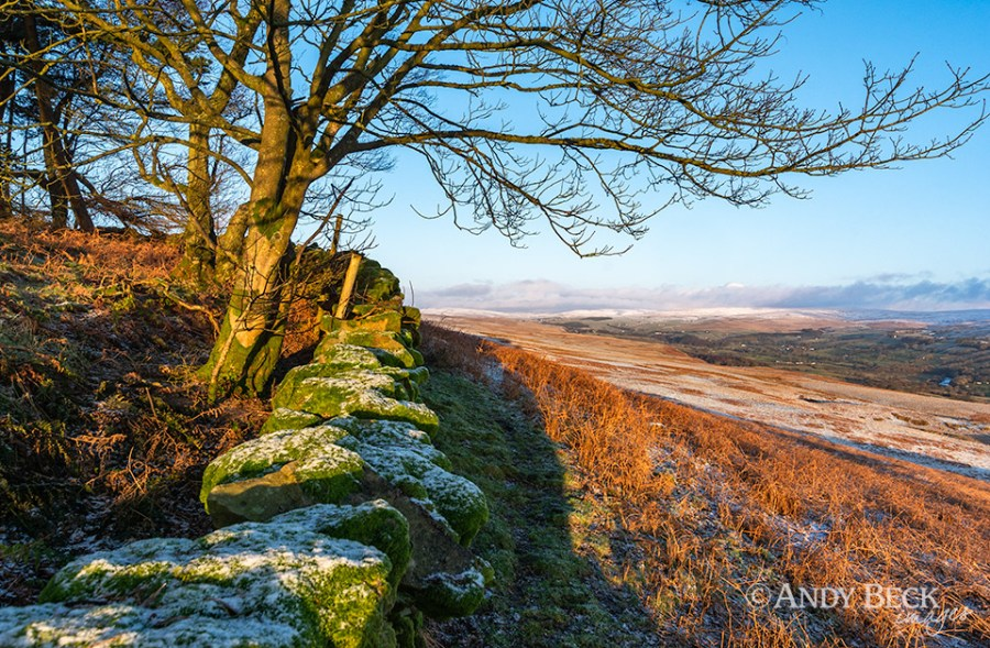 Wintery Teesdale from Kirkcarrion