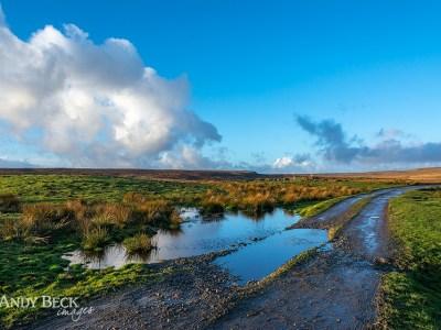 Blue skies Bowes Moor