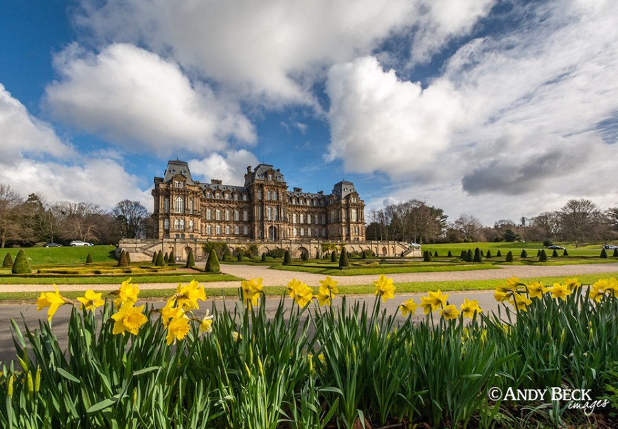 Bowes Museum at Spring