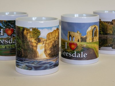 I Love Teesdale mugs