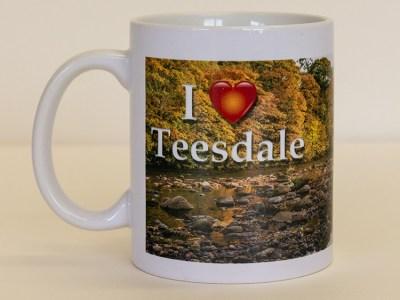 I Love Teesdale Barnard Castle mug