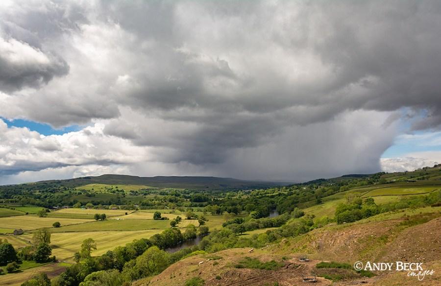 Rain through the dale