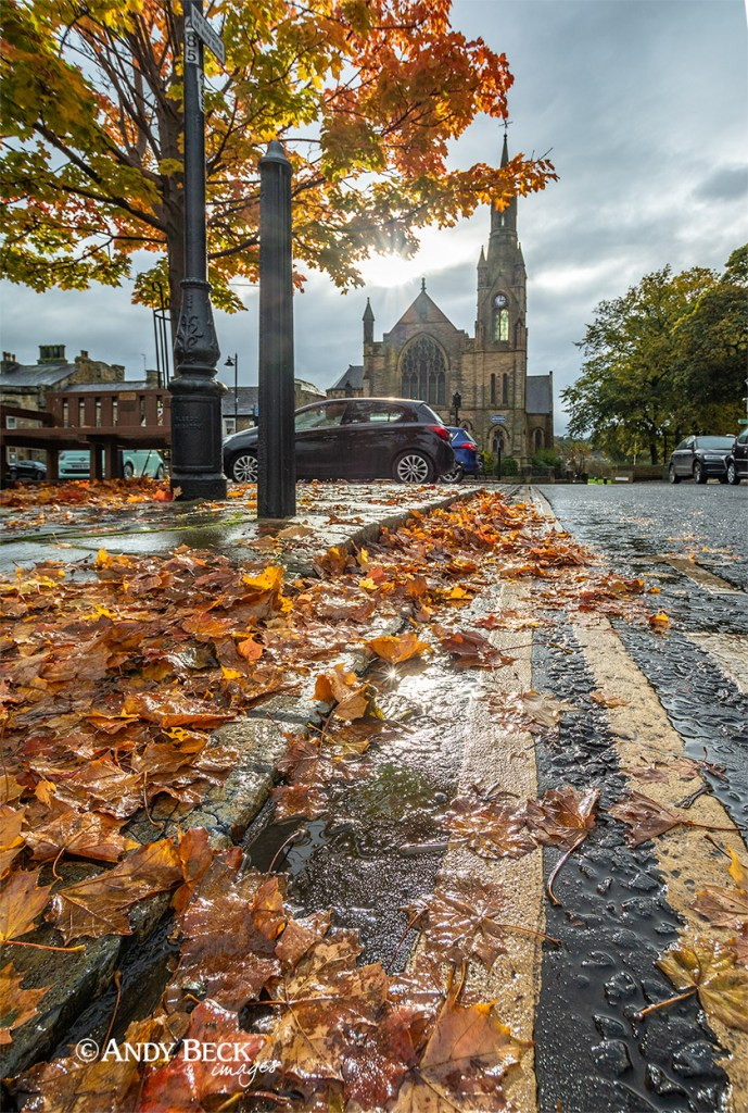 Autumn at Barnard Castle