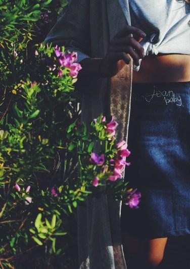 'blue jean baby' skirt