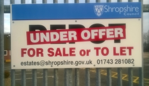 Zero waste centre plan for Ludlow bites the dust as Shropshire Council sells site (updated)