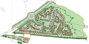 Scheme for more than 200 homes in Ludlow rejected for second time