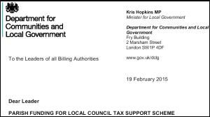 Shropshire Council leader backs parish council grant heist as he fails to mention minister's letter
