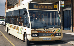 Bus Users Shropshire gets improved services between Ludlow and Leominster from 11 May