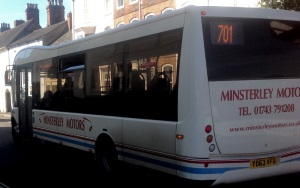 Minsterley Motors keep Ludlow town bus contract – hurrah!