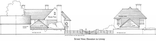 Linney_Castle_Grange_revised_elevation_from_Linney
