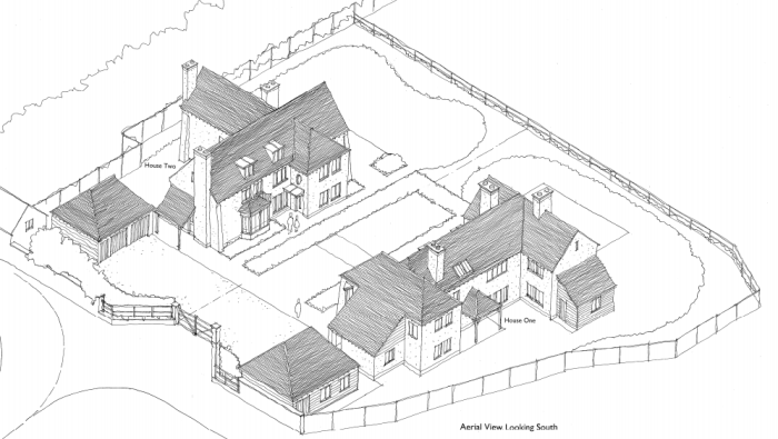 Linney_Castle_Grange_revised_site_aerial_view