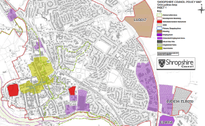 Green fields under threat as Shropshire Council proposes changes that will weaken local planning