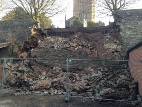 Ludlow Town Council needs heritage champion to save town walls – they collapsed four years ago today