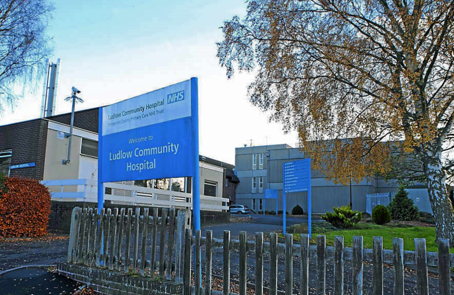 "Welcome news as health minister Philip Dunne says Ludlow Community Hospital ""will remain a hospital"""