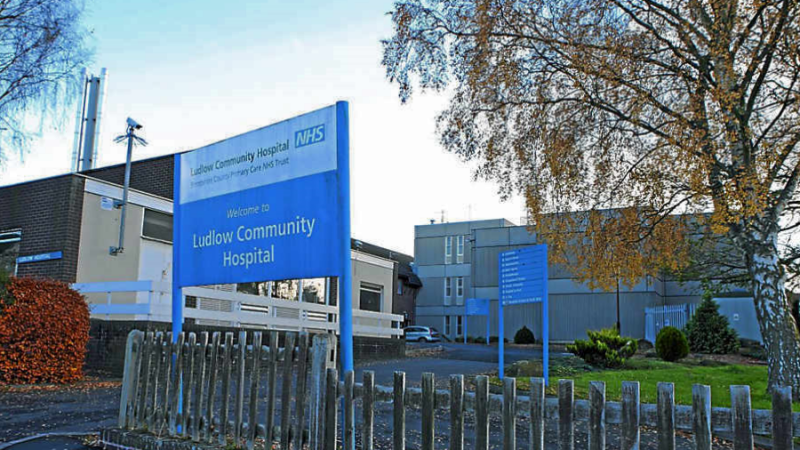 Resolution agreed on GPs wearing PPE at Ludlow Community Hospital