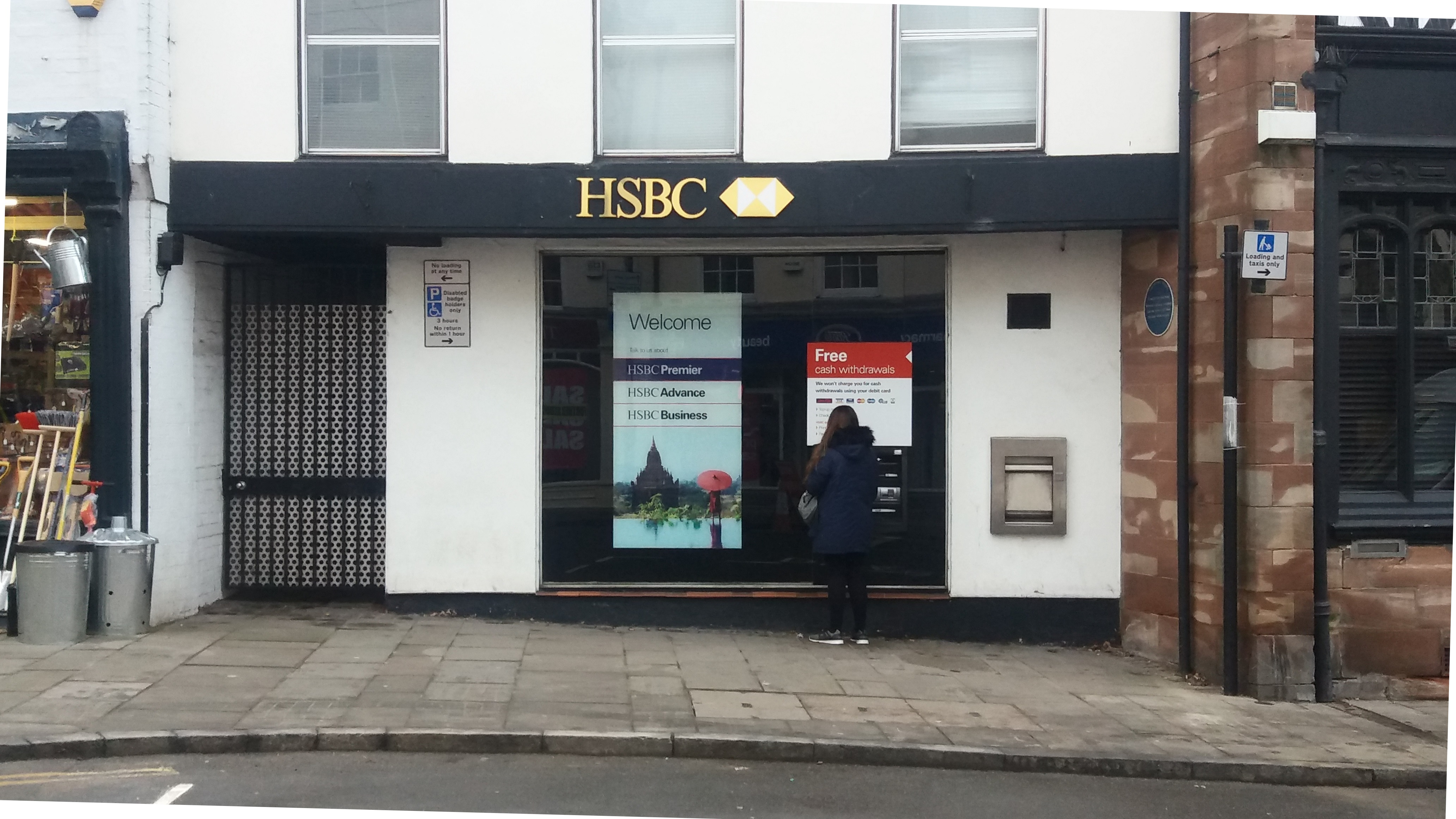HSBC letter to Shropshire Council on the closure of its Ludlow Branch