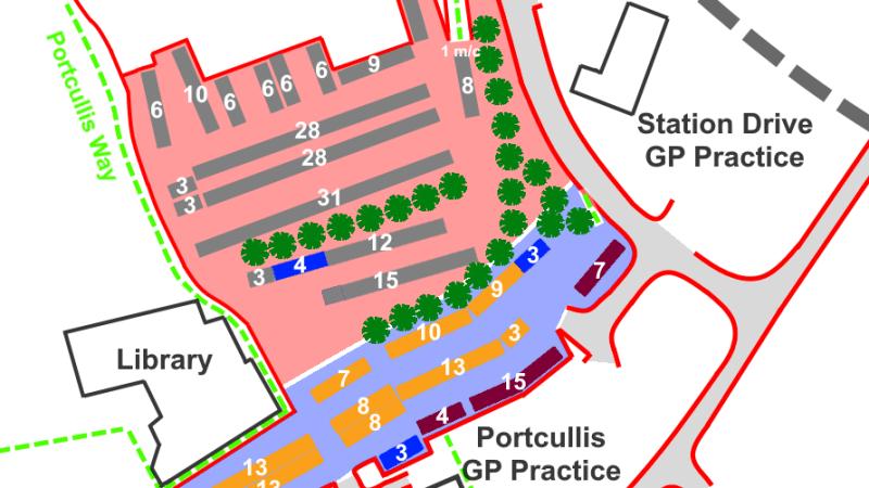 Parking consultation – should we rejig Upper Galdeford car park to create more short-term parking?
