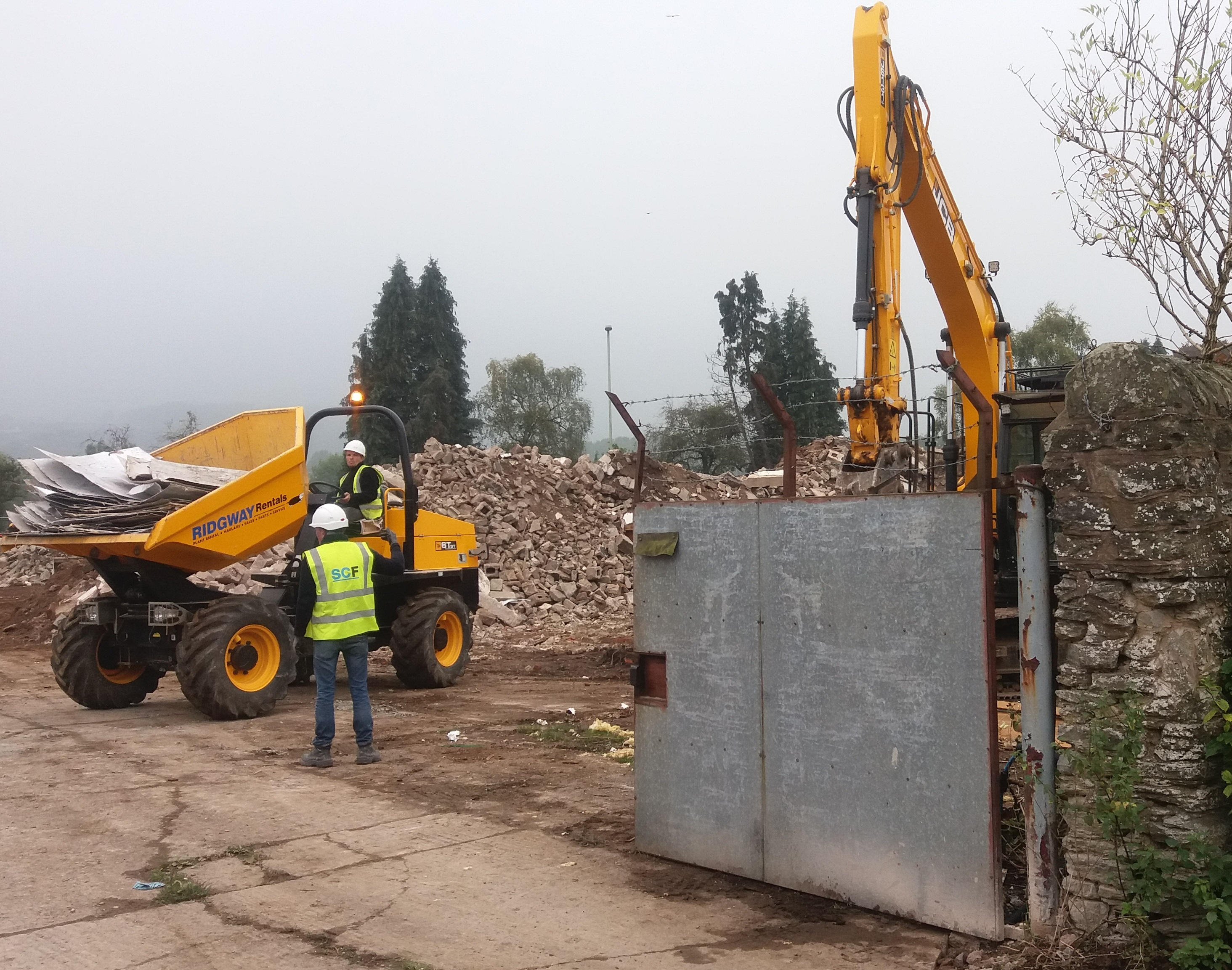 Final approval for Ludlow petrol station as construction work begins